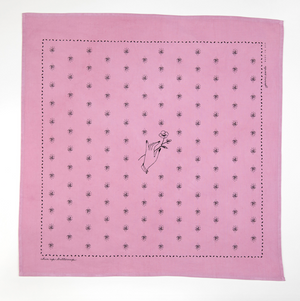 Chin up Buttercup Bandana - Desert Rose
