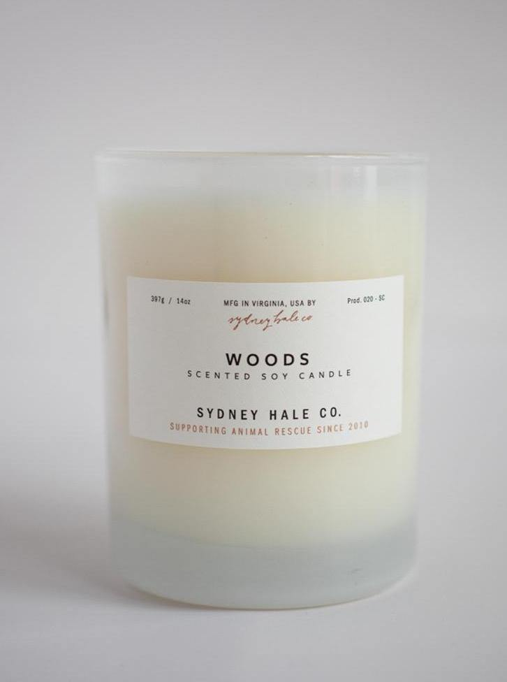 Sydney Hale Soy Candle - Woods