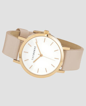 The Horse Mini Original Watch - Polished Rose Gold/Blush