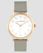 The Horse Mini Original Watch - Polished Rose Gold/Grey