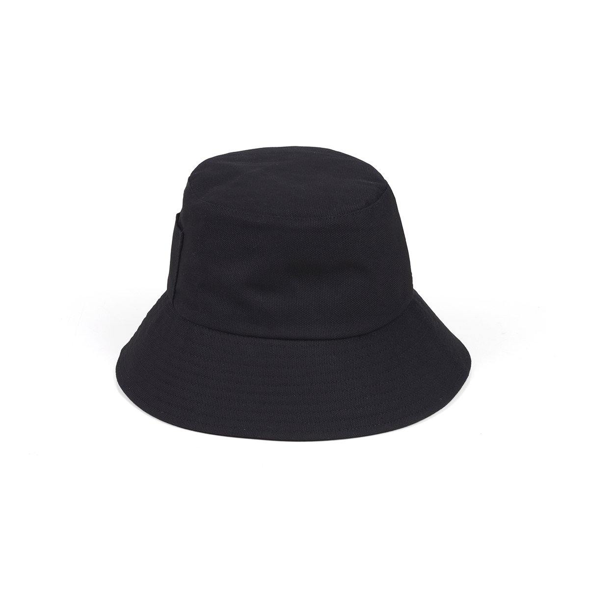 Lack of Color Wave Bucket Hat - Black
