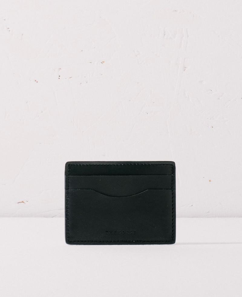 The Horse Flatboy Card Wallet - Black