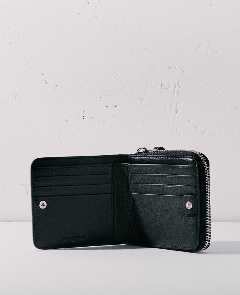 The Horse Mini Block Wallet - Black