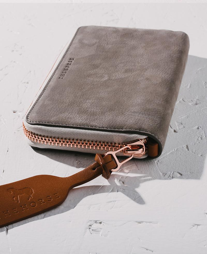 The Horse Block Wallet - Grey