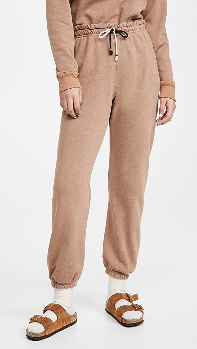 Donni Gem Sweatpants - Camel