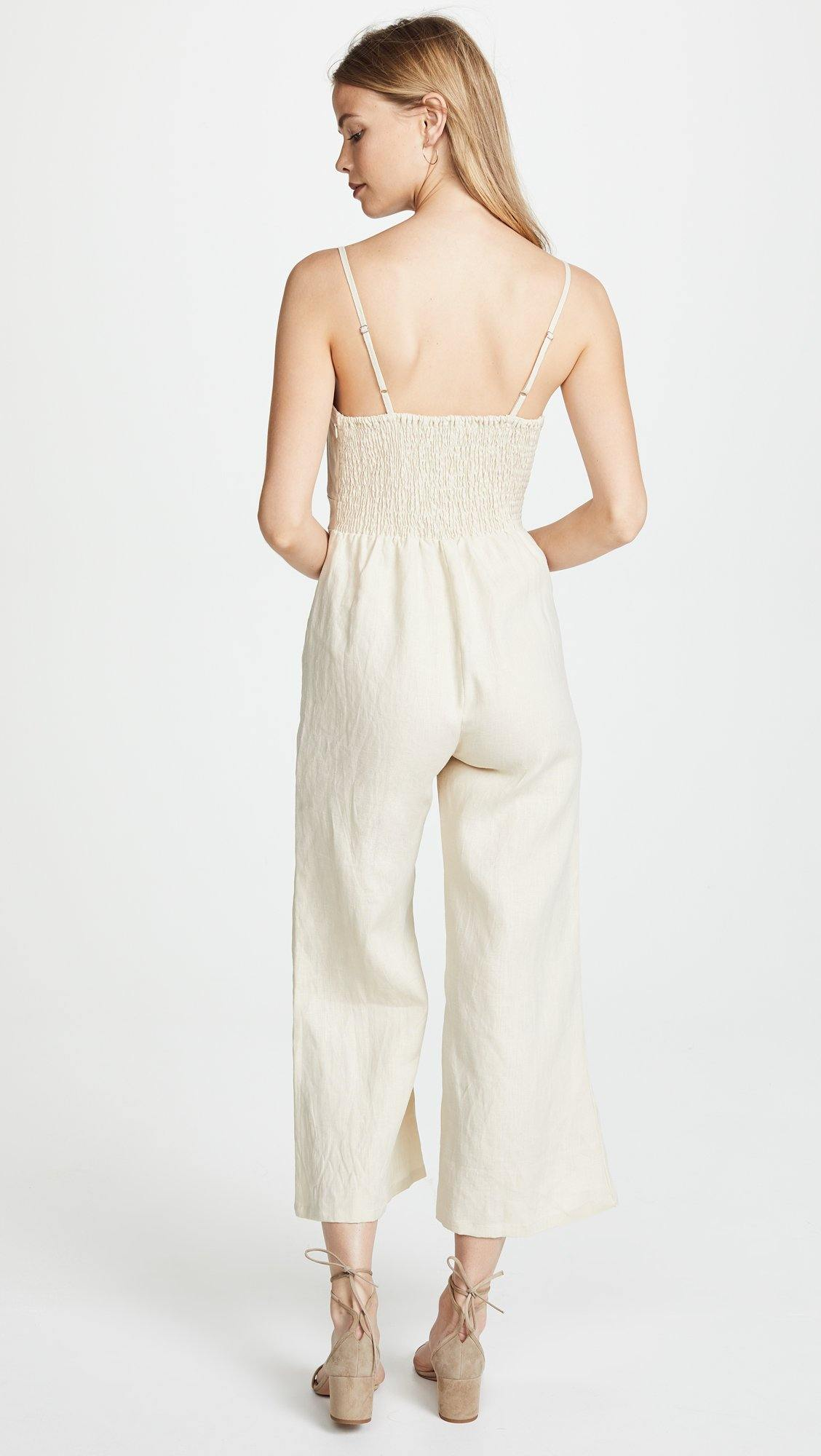 Faithfull Presley Jumpsuit - Bone