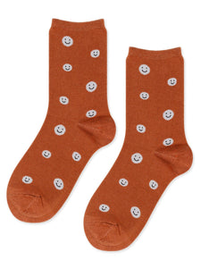 Hansel from Basel Happy Smiles Crew Socks