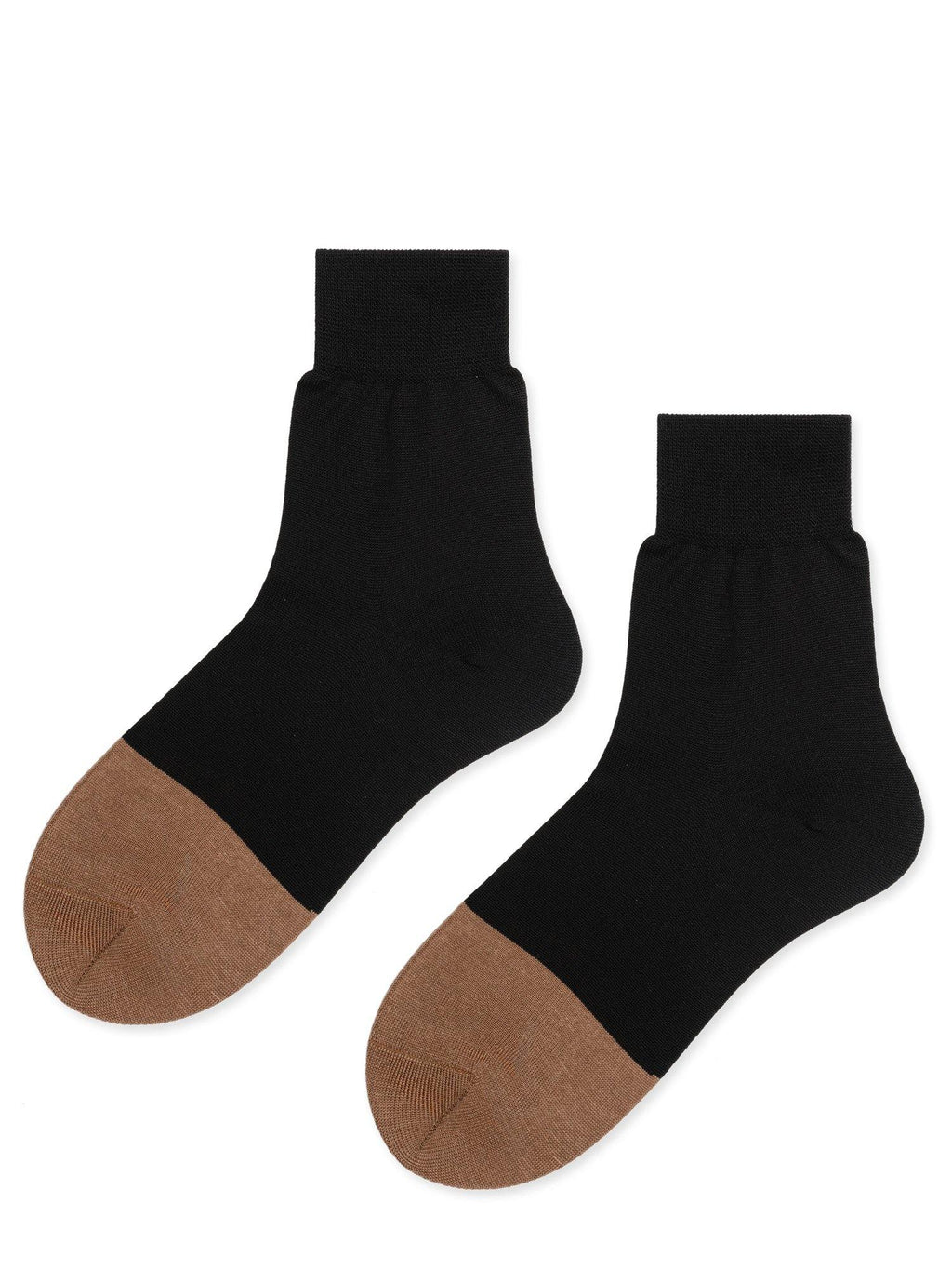 Hansel From Basel Colourblock Trouser Crew Socks - Black