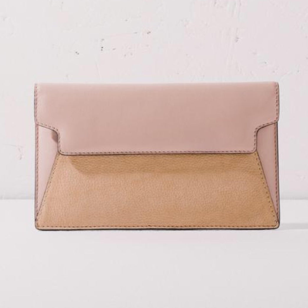 The Horse Envelope Clutch - Blush/Nude