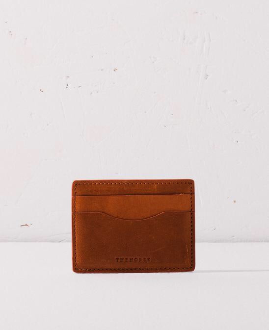 The Horse Flatboy Card Wallet - Tan