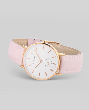 The Horse Classic Watch - Rose Gold / Pink Leather