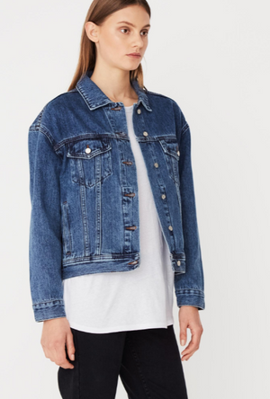 Assembly Label Boxy Denim Jacket