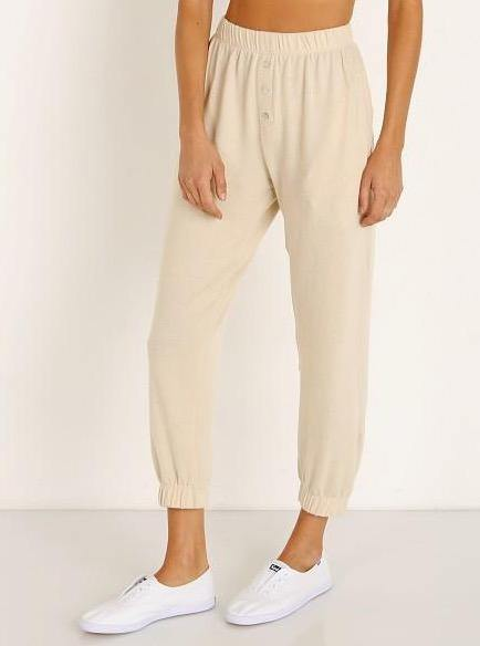 Donni Sweater Sweatpants - Creme