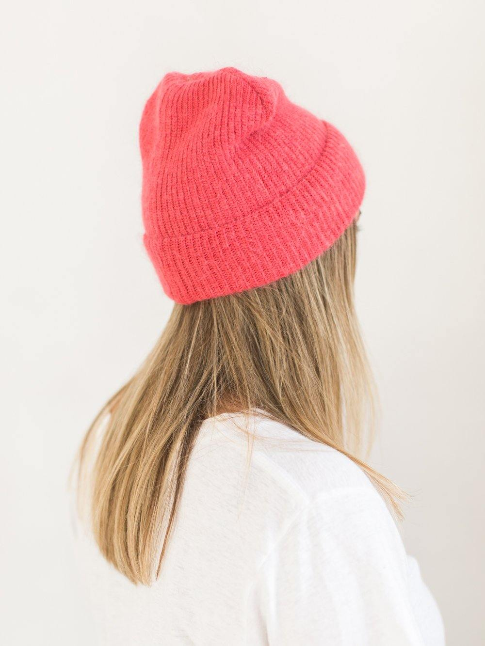 VP Ribbed Mohair Blend Toque