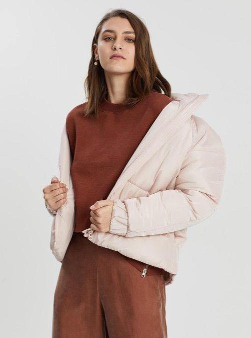 Assembly Label Classic Puffer - Blush