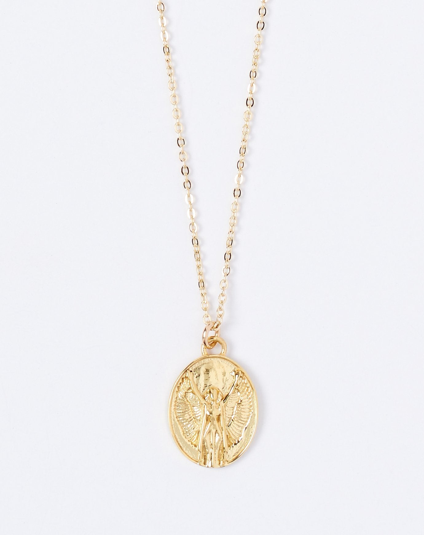 Talon Zodiac Pendant Necklace - Virgo