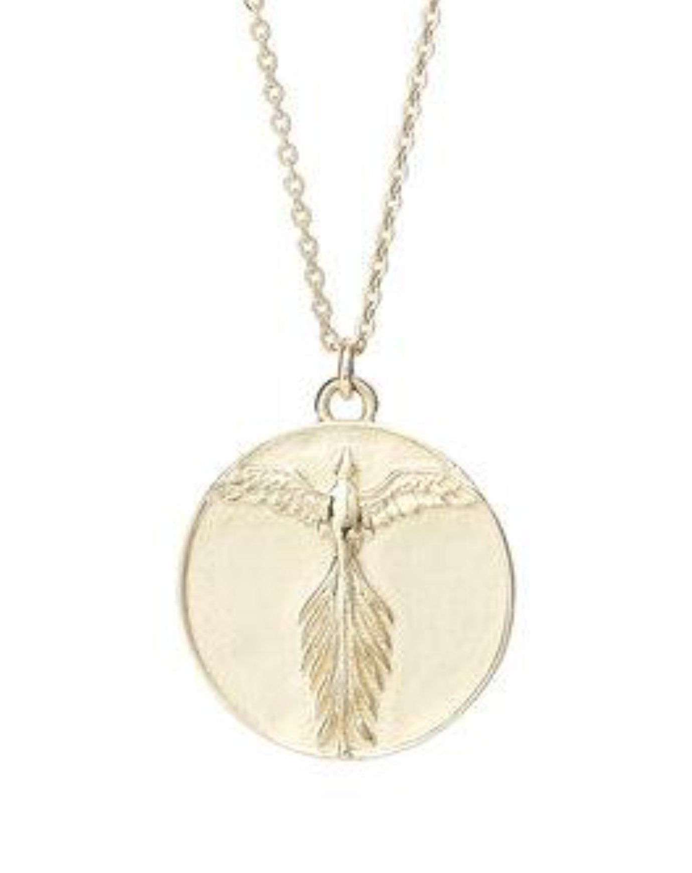 Talon Phoenix Medallion Necklace
