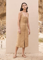 St. Agni Ghita Dress - Honey