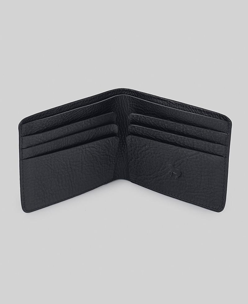 The Horse Men's Wallet - Black