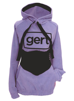 Super soft purple micro towling hoodie (corset sold separately)