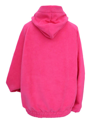 Super soft pink micro towling hoodie (corset sold separately)