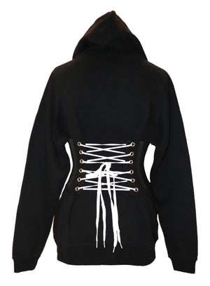 Centered half gert hoodie (corset sold separately)