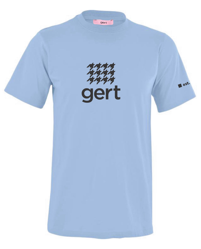 Houndstooth Gert Logo Print T-shirt (Various Colour Options)