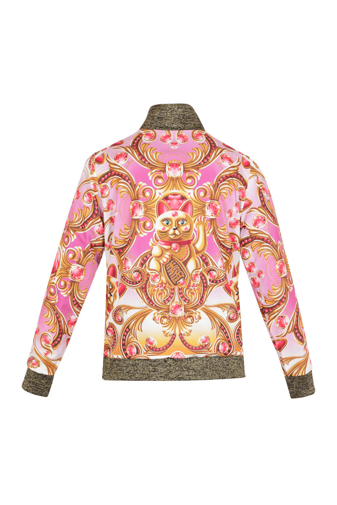 Lucky cat bomber jacket