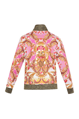 Lucky cat bomber jacket * LAST SIZES*