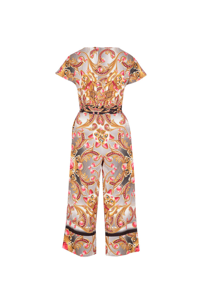 Lucky cat jumpsuit