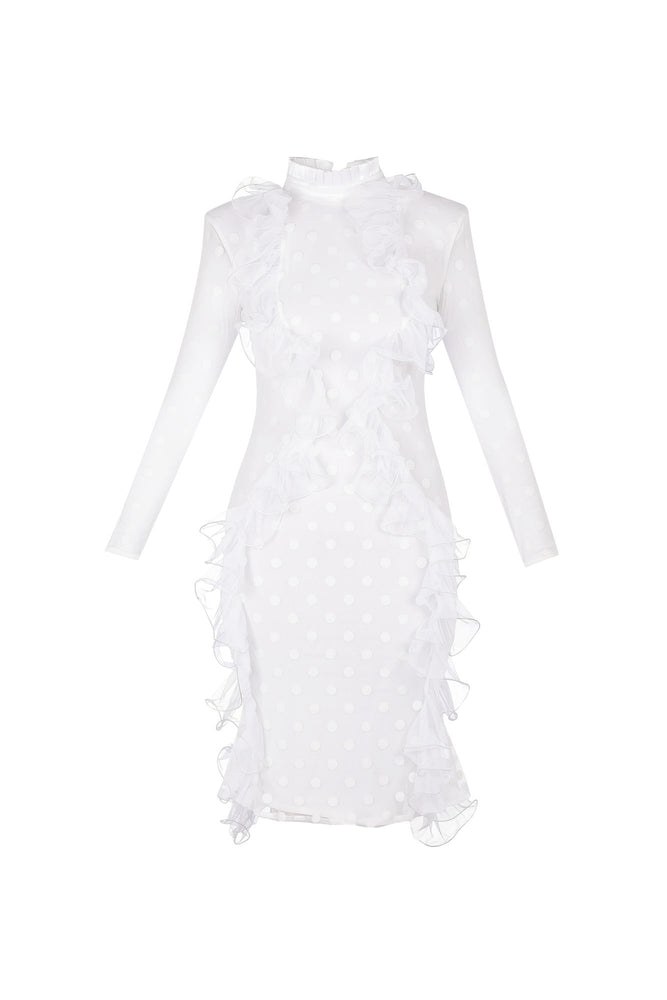 Polka dot tulle dress ** LAST 2 WHITE LEFT**