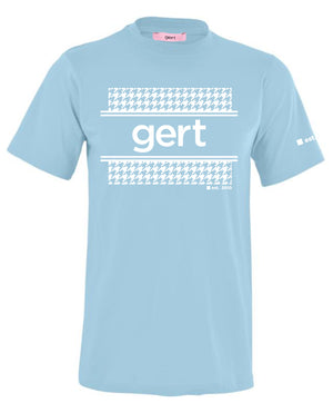 Houndstooth Framed Gert Print T-shirt (Various Colour Options)