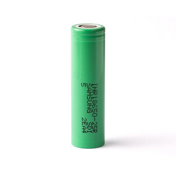Samsung - 25R 18650 2500mAh 20A Battery
