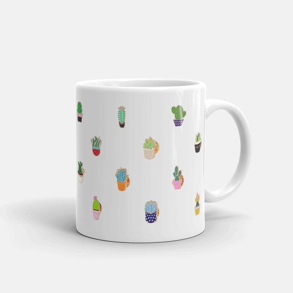 Succulent Inc. - Matt the Succulent Mug - Free Shipping and taxes included