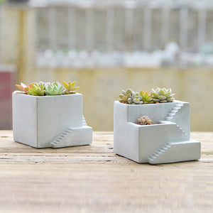 Succulent Inc. - Multi-Level Concrete Planter Silicone Mold - Free Shipping and Taxes Included