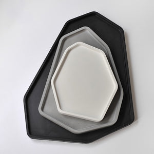 Succulent Inc. - Geometric Shaped Concrete Tray Silicone Molds - Free Shipping and Taxes Included