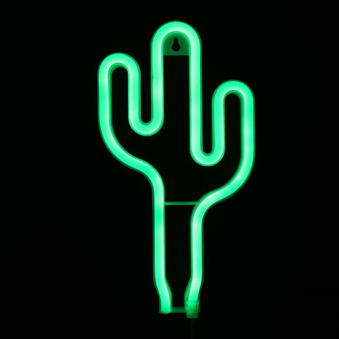 Succulent Inc. - USB Powered Cactus Neon Light - Free Shipping and taxes included