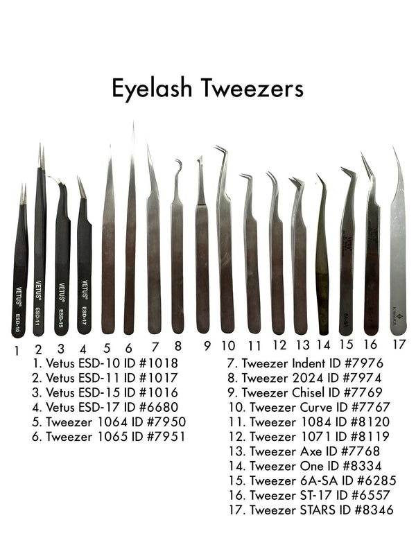 Professional Eyelash Tweezer