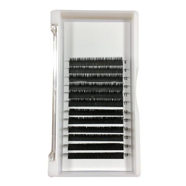 L+/LC Curl Premium Single Lash Tray