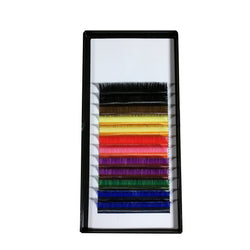 Rainbow Color Lash Tray