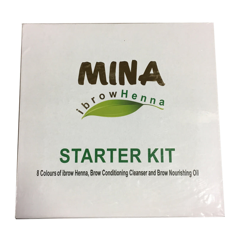 Mina iBrow Henna Starter Kit
