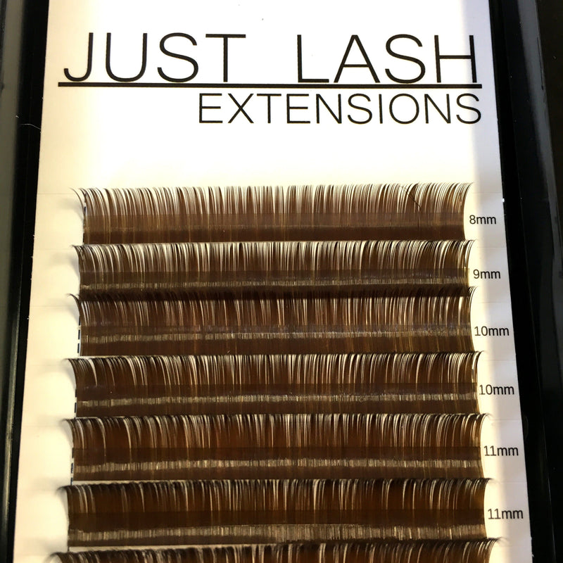 Dark Brown Color Lashes
