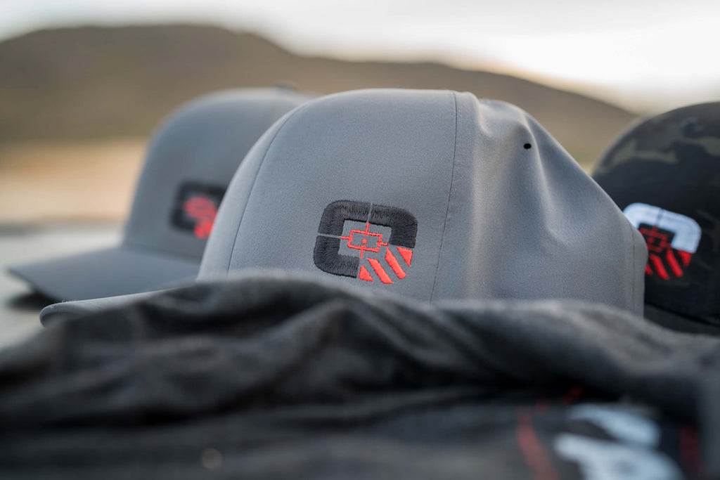 LIMITED EDITION! OODA Savage DELTA Flexfit Hat w/Logo, Dark Grey