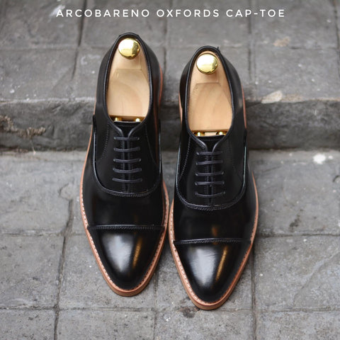 502-1 Oxford PianoBlack x Wooden Soles