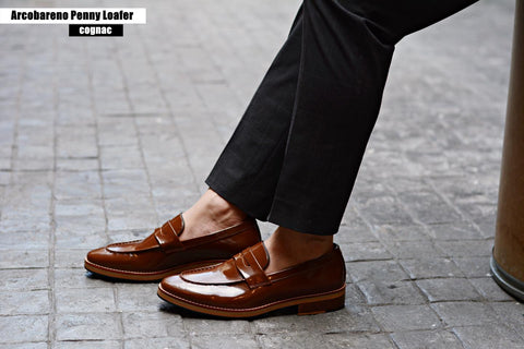 509 Penny Loafer Cognac x Wooden Soles