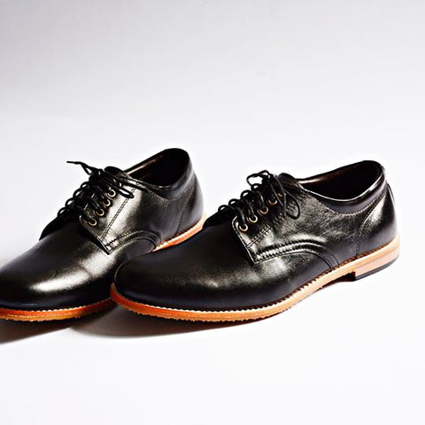 441 Oxford Low-Cut Matt Black