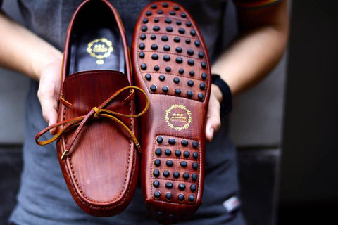 801 Driving Loafer Painted Style