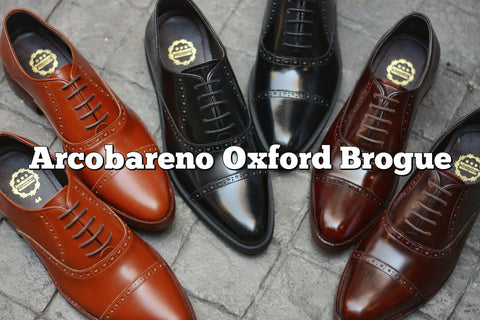 507-1 Brogue Shoe Dark Burgundy