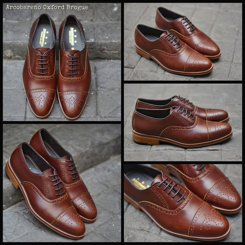 507 Brogue Shoe Lotus Caramel + Wooden Sole