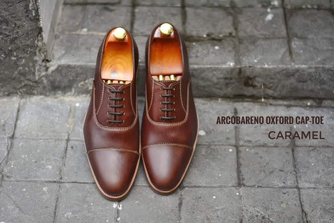 502-1 Oxford Caramel x Wooden Soles